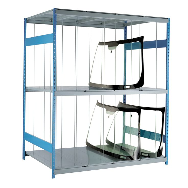 Windshield Rack : No. Shelves:3 / Width (inches):72 / Height (inches):87 / Depth (inches):48 / Net weight (lb.):324.18 / Functional design that ensures it's easy to use. / The unique shape of the Spider® post is a Rousseau Metal inc. trademark. / Load capacity and design adapted to storage in most industrial and commercial sectors. / Versatile structure, to which a wide range of accessories can be added. / For personalized configuration, contact us!