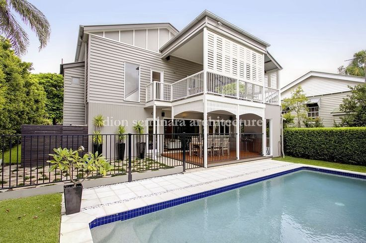 Architects Hawthorne Brisbane 4171 | Queenslander Renovation with sympathetic contemporary changes to a previously renovated 1920′s Queenslander
