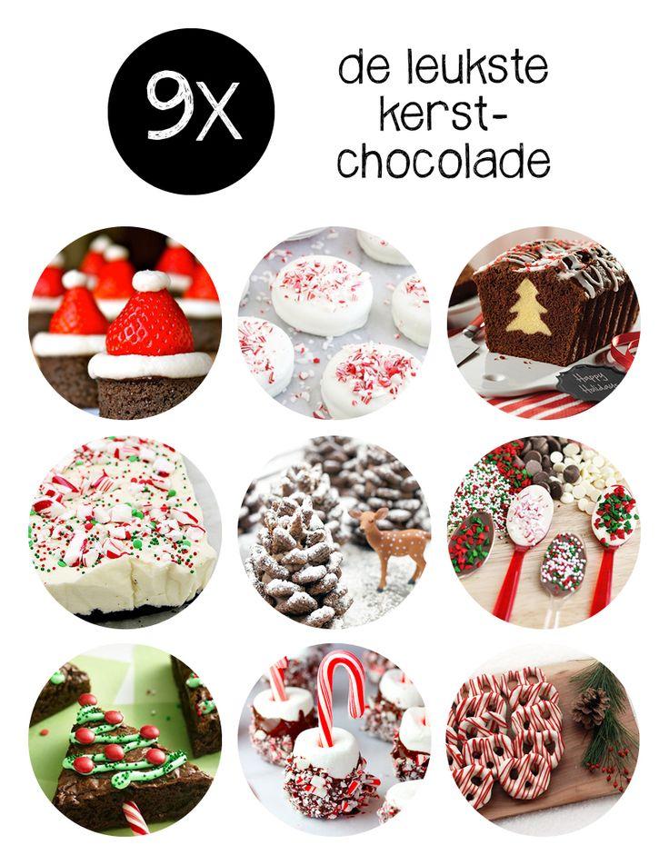 Elk excuus om chocolade te eten is welkom. Ook kerst! Kijk je mee naar deze geweldige kerstchocolade recepten? Om je vingers bij af te likken!