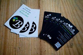 Nuestras tarjetas de visita