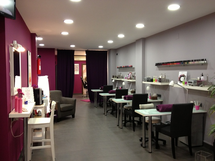 72 best Nail Salon Design images on Pinterest | Nail salons, Nail ...