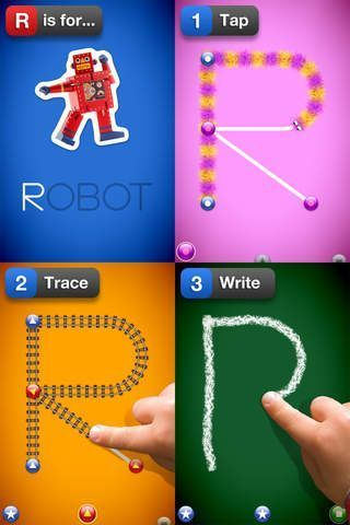 5 Best iPad Apps for Handwriting - for kids aged 3 to 7.