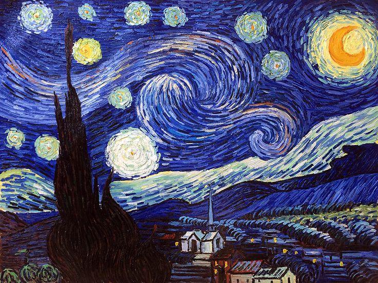 """Ван Гог """"звездная ночь"""""""