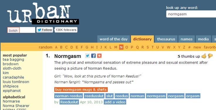 I love Urban Dictionary