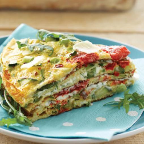 Savoury layer cake   Australian Healthy Food Guide