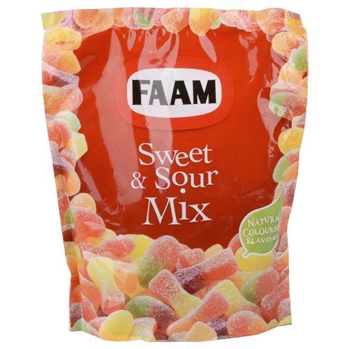 faam mélange de bonbons 325g sucré+acide