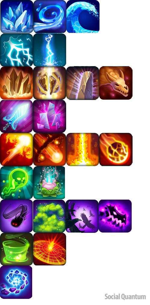 Dragons World : Rais...@不_可_爱_采集到游戏图标 技能(179图)_花瓣UI/UX