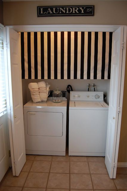 Hmmm...hides mess over washer and dryer....needs some way to raise it up when dealing with the things behind it.