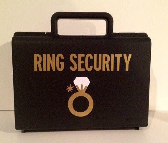 Ring Security, Ringbearer gift, Ring Agent, Ring bearer, Ring bearer on Etsy, $19.12 CAD