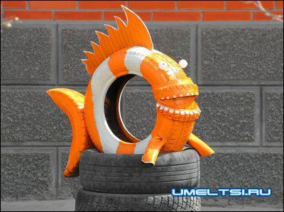 Got enough old tires to do something like this!