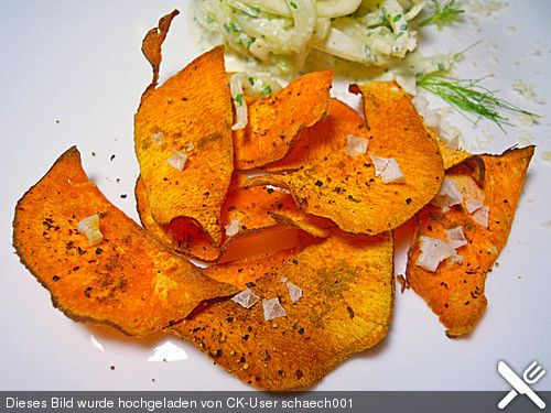 Süßkartoffel - Chips, ein schönes Rezept aus der Kategorie Kartoffeln. Bewertungen: 19. Durchschnitt: Ø 3,9.