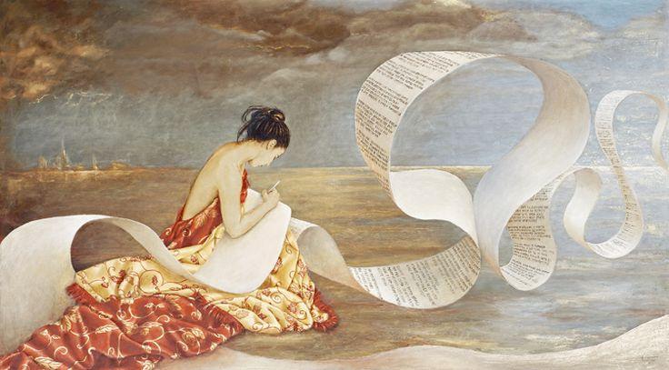GERODIMOU * Poetry * Greek artist * www.gerodimou.com * oil painting on canvas