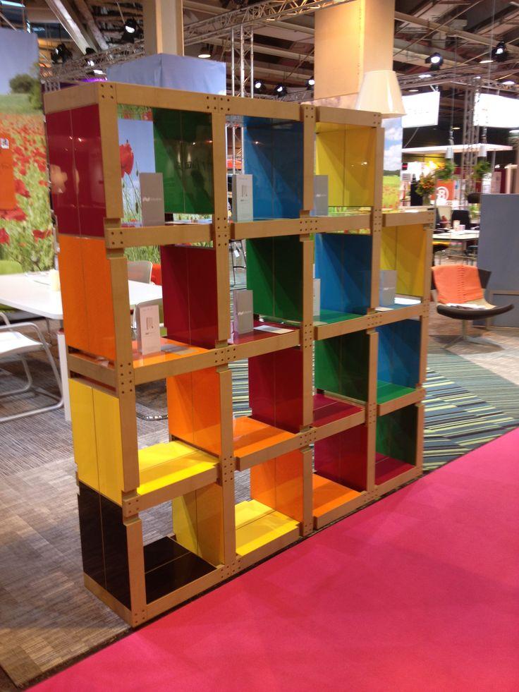 Fabulem, une marque de #mobilier modulable et coloré pour dynamiser vos espaces ! #aménagement http://klou.tt/ul4zt9djfm3y