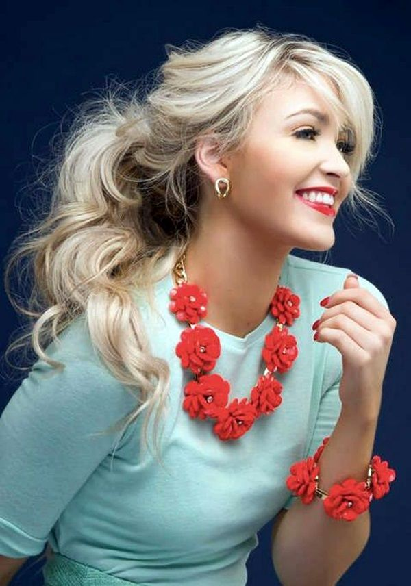cute winter hair styles best 20 winter hairstyles ideas on 2328 | dbc480a7241a69fa4c01bd963f0ee42f cute blonde hairstyles fun hairstyles