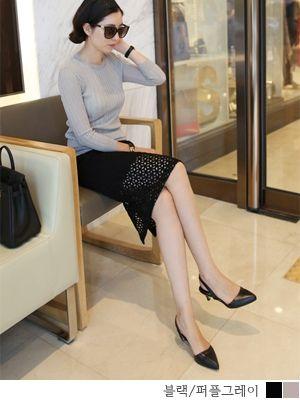 korean fashion online store [COCOBLACK] #koreafashionshop #Fashionwomen  #korea #dailylook #missy #dress #top #skirt #pants #clothsale #missiyfashion #workingmom #missylook #dailylook #homewear #like #want #skirt #裙子 #スカート#loosefit #feminine #officelook #bigsize  SK eyelets / Size : S,M,L / Price : 45.03 USD