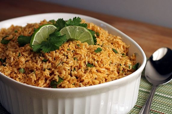 Cilantro Lime Basmati Brown Rice. Inspired by Chipotle's! TheYummyLife.com