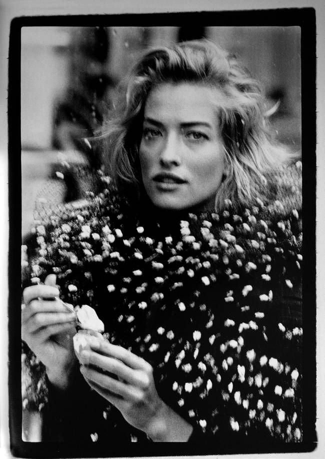 Vogue UK - Fin de siecle - Tatiana Patitz - Aug 1989 Photos PETER LINDBERGH