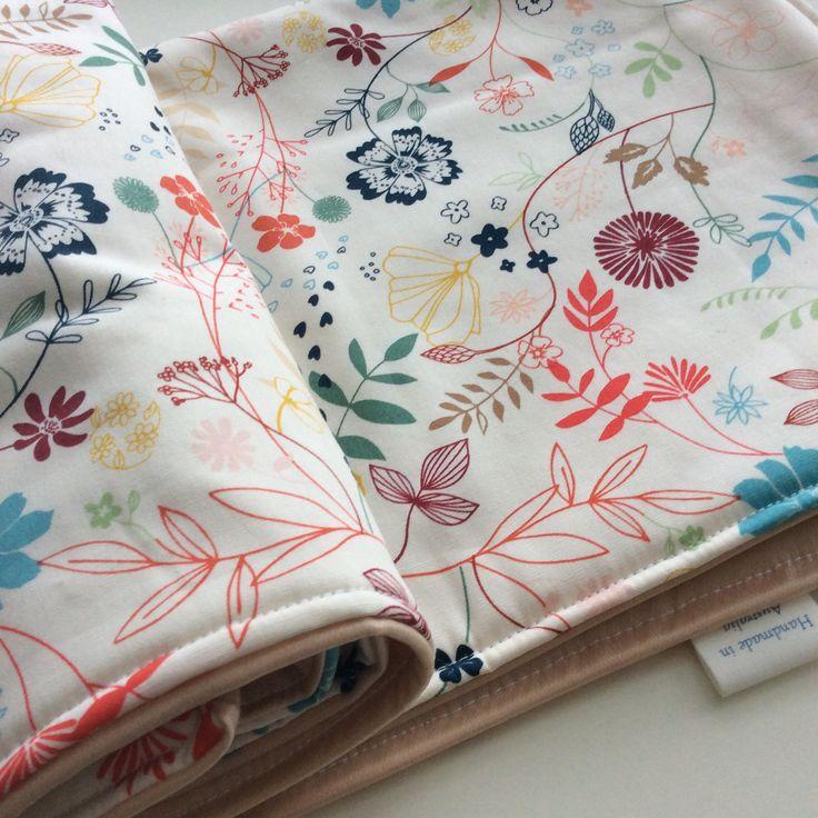 Handmade baby change mat