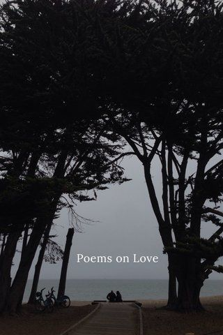"""""""Poems on Love"""" is a collection of collaborative haikus made by strangers around the world on the HaikuJAM app. ('cc  @StellerStories)"""