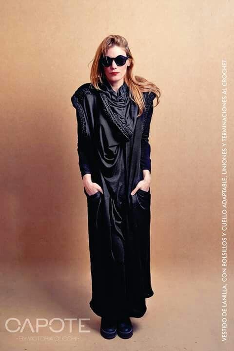 Vestido Vestido de lanilla tejido