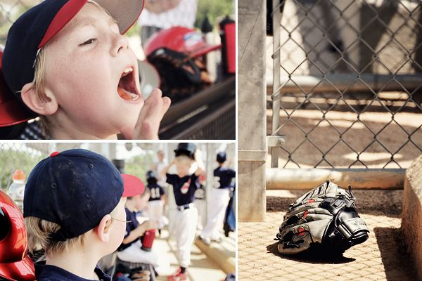 Get Off the Bleachers | Kid's Sports Photography