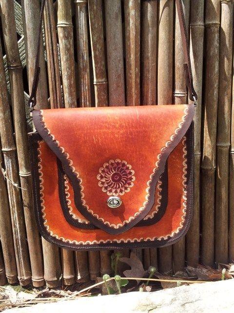 Boho Chique Messenger Bag