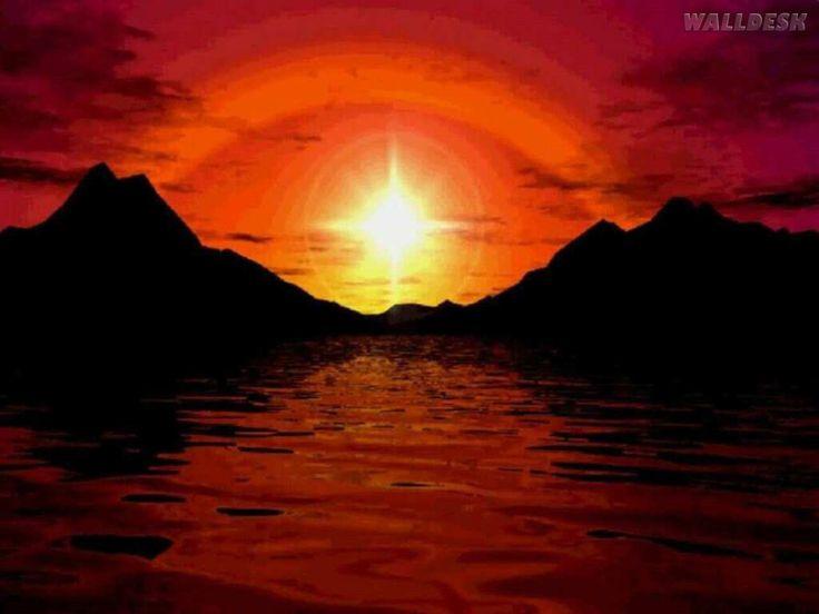 Belo Papel De Parede Alta Resolução Baixar: Papel De Parede De Sol Nascente