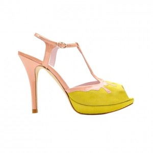 Minna Parikka Melt Sandal Yellow Powder