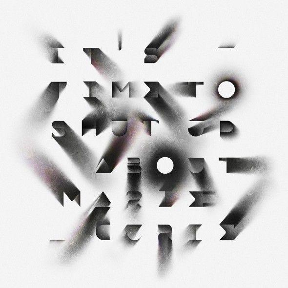 Ce titre typographique signé par le studio Sawdust pour une chronique mensuelle du magazine Wired intitulé Parole électrique. Direction artistique :David Moretti.