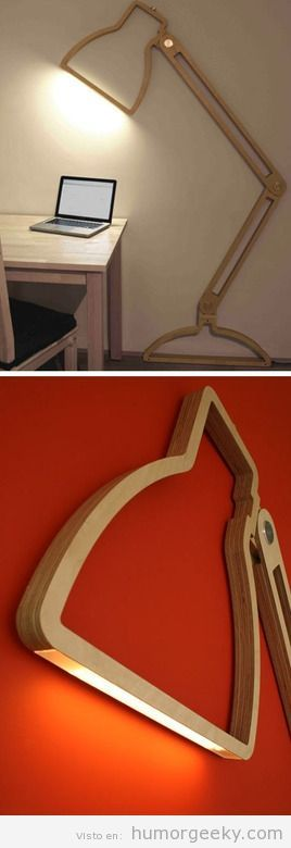 Innovative Wall lamp | From Humor Geeky