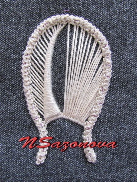 Romanian Point Lace _tutorial 2