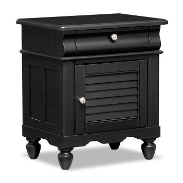 American Signature Furniture - Seaside Black Kids Furniture Nightstand $169.99 #ASFwishlist