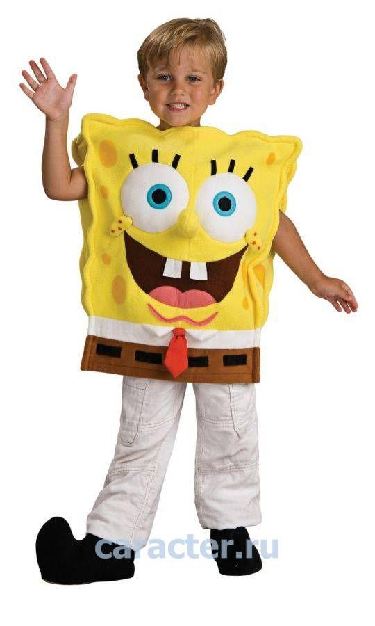Карнавальные костюмы :: Костюмы для мальчиков :: Персонажи ТВ и Кино :: Спанч Боб :: Костюм Спондж Боб -