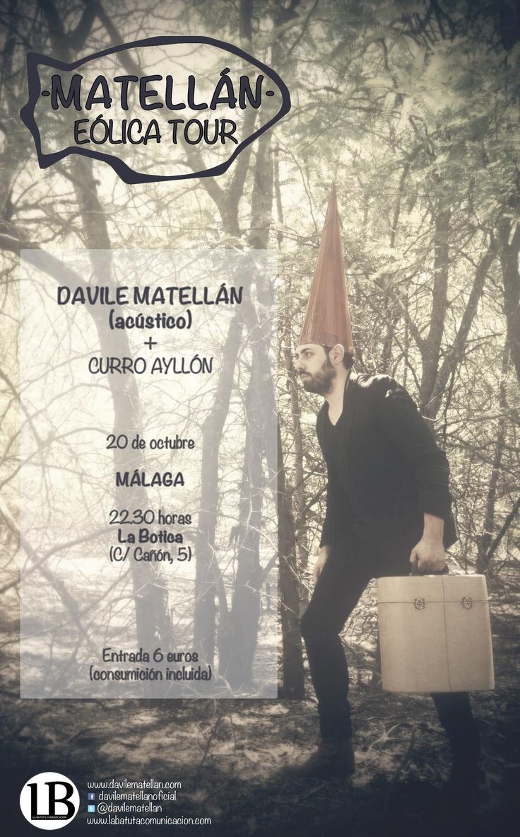 Cartelería para Davile Matellán del Eólica Tour (I)