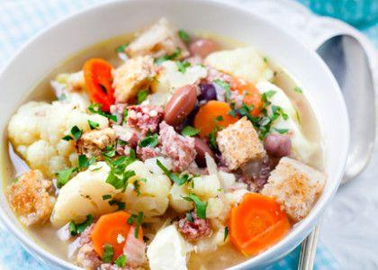 Blomkålssoppa med salsiccia | MåBra - Nyttiga recept