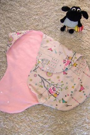 Couverture mignonne pour bébé, bricolage, coupe libre   – Nähen