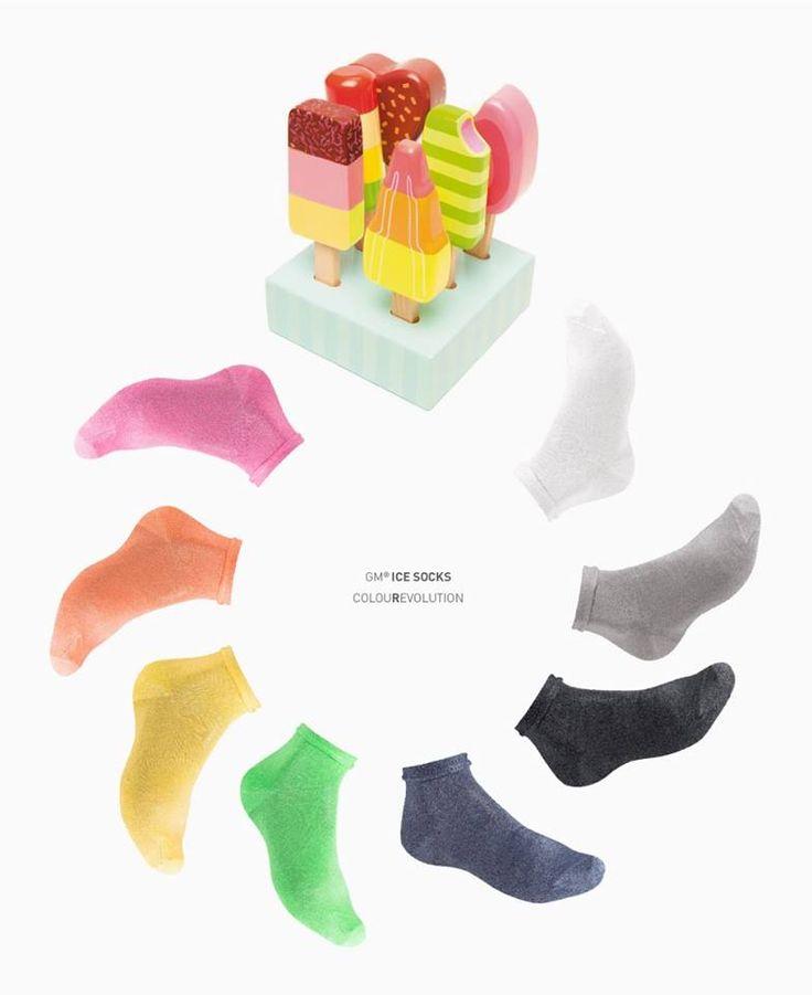 #GM #ice #socks the colouRevolution! #calzeGM http://www.calzegm.com/product/308-icesocks-soft-cotton/