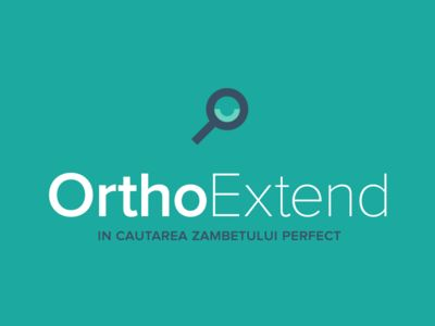 OrthoExtend is an online aggregator for Romanian orthodontic surgeries. Here's the #identity we designed for them. Hope you like it! Read our case study for this #project at http://www.phyramid.com/blog/case-study-orthoextend/.