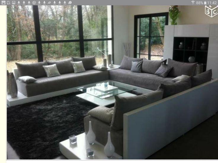Les 16 meilleures images propos de meubles salon sur - Canape oriental moderne ...