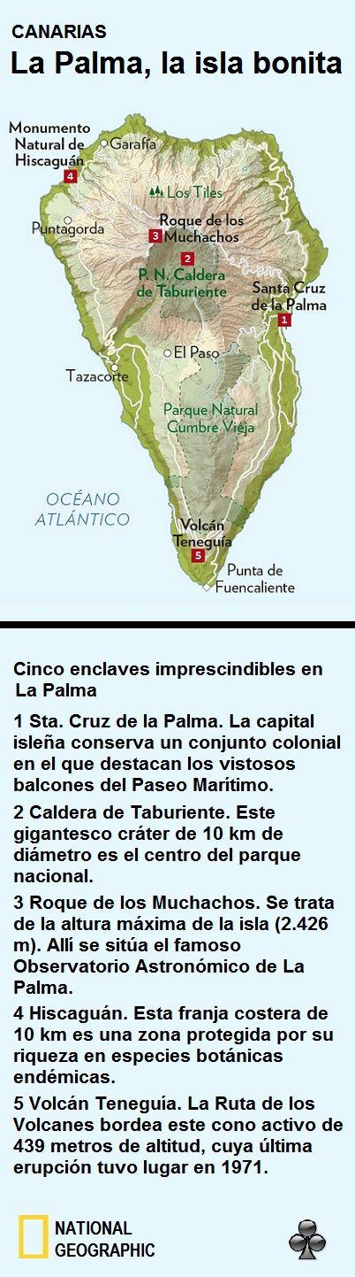 Cinco enclaves imprescindibles de visitar en San Miguel de La Palma. Islas Canarias