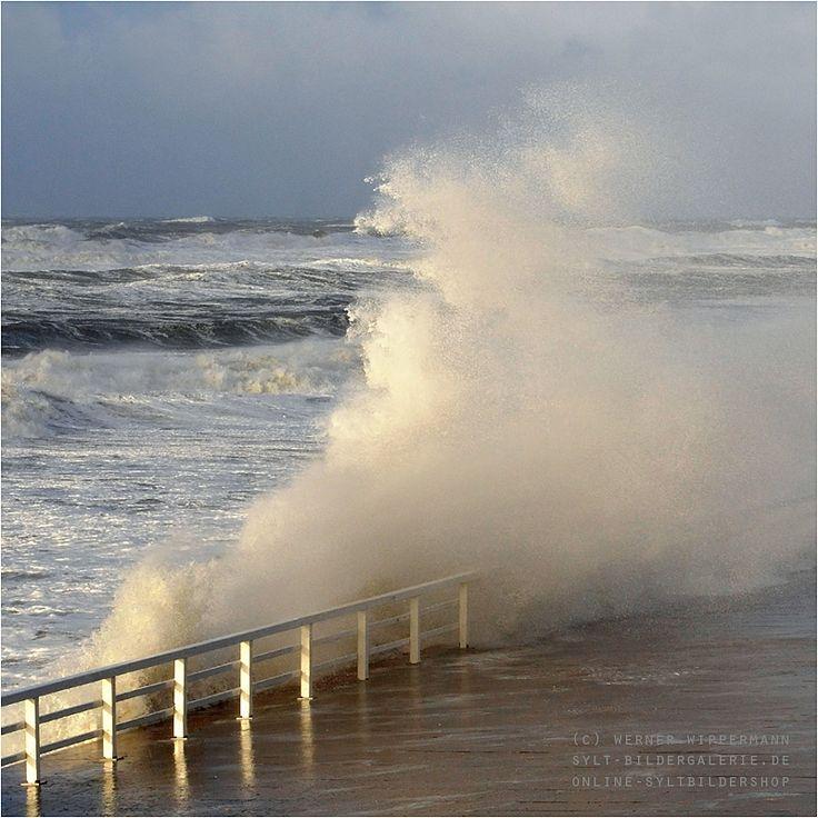 Sylt, Sturm, Orkan, Christian, Bilder, Fotos, Aufnahmen | Sylt-Bildergalerie