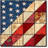 Glory in Scraps free quilt block pattern
