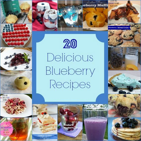 20 Amazingly Delicious Blueberry Recipes