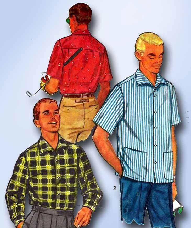 107 besten Vintage4me2 Men\'s Patterns Bilder auf Pinterest | 1950er ...