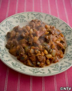 もこみち流 ラム肉と白いんげん豆のトマト煮込み