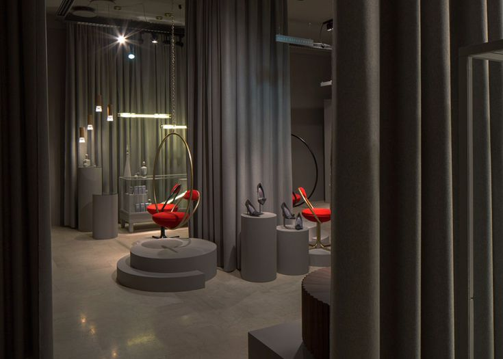 Lee Broom's fake department store installation opens in Milan