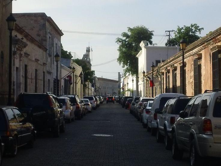 Calle Las Damas en la Zona Colonial.
