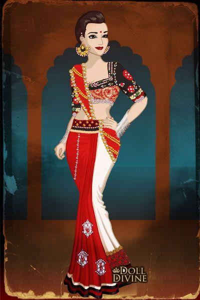 Ram Leela ~ by kaurwaki ~ created using the Sari doll ...