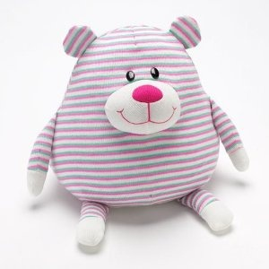 Mushables Pot Bellies Toy Bear Pillow
