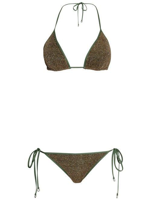 HANNE BLOCH / BIKINI PAILLETTES Disponibles sur : http://www.bymarie.com/vacation-pieces.html #hannebloch #bikini #swimwear #vacacionspieces #fashion #mode #paris #marseille #sainttropez #chic #bymariestore